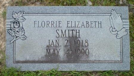 SMITH, FLORRIE ELIZABETH - Ashley County, Arkansas   FLORRIE ELIZABETH SMITH - Arkansas Gravestone Photos