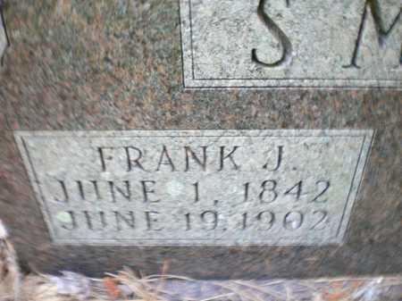 SMITH, FRANK J (CLOSE UP) - Ashley County, Arkansas | FRANK J (CLOSE UP) SMITH - Arkansas Gravestone Photos