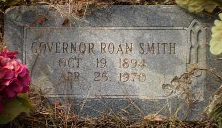 SMITH, GOVERNOR ROAN - Ashley County, Arkansas | GOVERNOR ROAN SMITH - Arkansas Gravestone Photos
