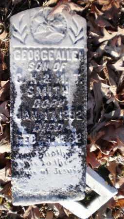 SMITH, GEORGE ALLEN - Ashley County, Arkansas | GEORGE ALLEN SMITH - Arkansas Gravestone Photos