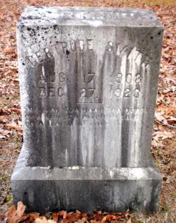SMITH, GERTRUDE - Ashley County, Arkansas | GERTRUDE SMITH - Arkansas Gravestone Photos
