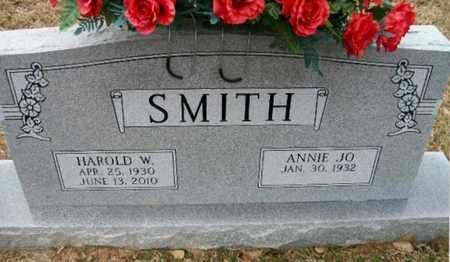 SMITH, HAROLD W - Ashley County, Arkansas | HAROLD W SMITH - Arkansas Gravestone Photos