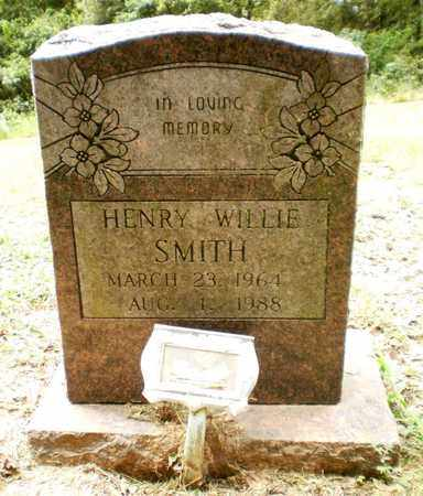 SMITH, HENRY WILLIE - Ashley County, Arkansas   HENRY WILLIE SMITH - Arkansas Gravestone Photos