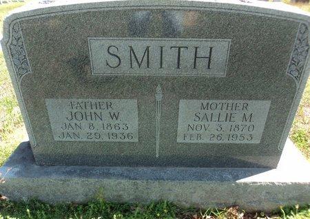 SMITH, JOHN WILLIAM - Ashley County, Arkansas | JOHN WILLIAM SMITH - Arkansas Gravestone Photos