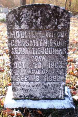 SMITH, MOLLIE T - Ashley County, Arkansas   MOLLIE T SMITH - Arkansas Gravestone Photos