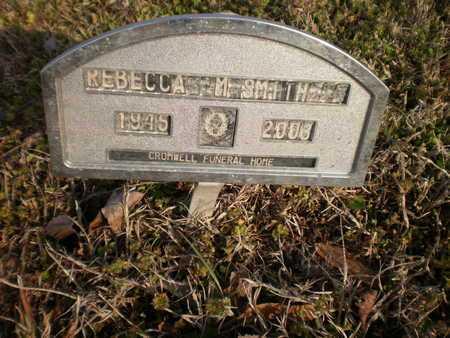SMITH, REBECCA M - Ashley County, Arkansas | REBECCA M SMITH - Arkansas Gravestone Photos