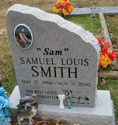 "SMITH, SAMUEL LOUIS ""SAM"" - Ashley County, Arkansas   SAMUEL LOUIS ""SAM"" SMITH - Arkansas Gravestone Photos"