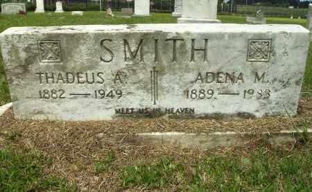 SMITH, THADEUS A - Ashley County, Arkansas | THADEUS A SMITH - Arkansas Gravestone Photos