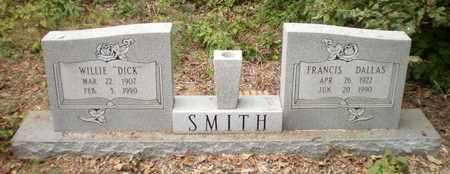 SMITH, FRANCIS - Ashley County, Arkansas | FRANCIS SMITH - Arkansas Gravestone Photos