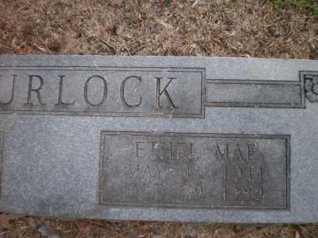 SPURLOCK, ETHEL MAE (CLOSE UP) - Ashley County, Arkansas | ETHEL MAE (CLOSE UP) SPURLOCK - Arkansas Gravestone Photos
