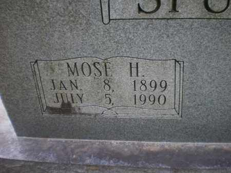 SPURLOCK, MOSE H (CLOSE UP) - Ashley County, Arkansas | MOSE H (CLOSE UP) SPURLOCK - Arkansas Gravestone Photos