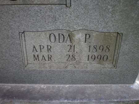 SPURLOCK, ODA P (CLOSE UO) - Ashley County, Arkansas   ODA P (CLOSE UO) SPURLOCK - Arkansas Gravestone Photos