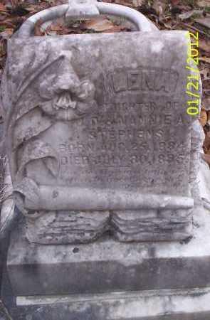 STEPHENS, LENA - Ashley County, Arkansas | LENA STEPHENS - Arkansas Gravestone Photos