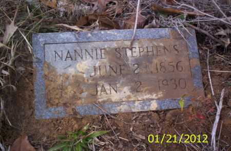 STEPHENS, NANNIE - Ashley County, Arkansas | NANNIE STEPHENS - Arkansas Gravestone Photos