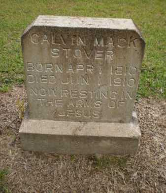 STOVER, CALVIN MACK - Ashley County, Arkansas | CALVIN MACK STOVER - Arkansas Gravestone Photos