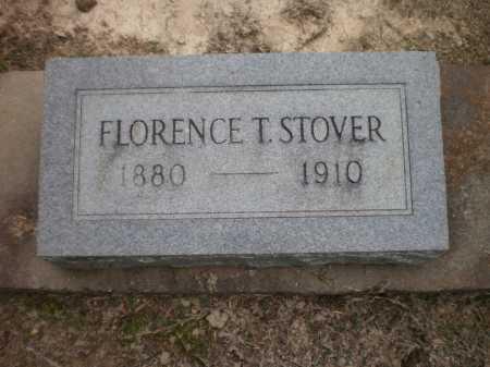 STOVER, FLORENCE T - Ashley County, Arkansas   FLORENCE T STOVER - Arkansas Gravestone Photos