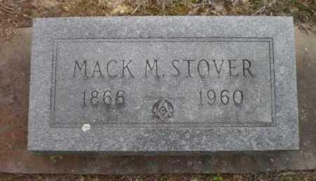 STOVER, MACK M - Ashley County, Arkansas | MACK M STOVER - Arkansas Gravestone Photos