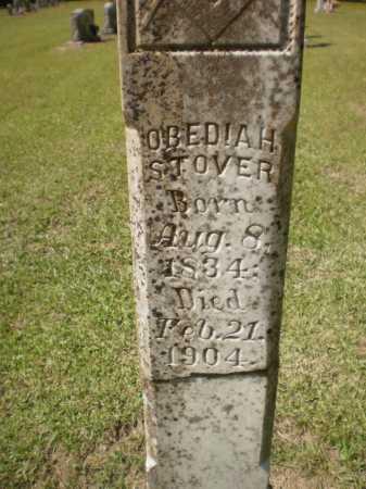 STOVER, OBEDIAH (CLOSE UP) - Ashley County, Arkansas   OBEDIAH (CLOSE UP) STOVER - Arkansas Gravestone Photos