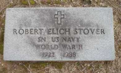 STOVER (VETERAN WWII), ROBERT ELICH - Ashley County, Arkansas | ROBERT ELICH STOVER (VETERAN WWII) - Arkansas Gravestone Photos
