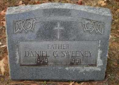 SWEENEY, DANIEL G - Ashley County, Arkansas   DANIEL G SWEENEY - Arkansas Gravestone Photos