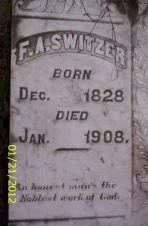 SWITZER, FREDERICK AMOS - Ashley County, Arkansas | FREDERICK AMOS SWITZER - Arkansas Gravestone Photos