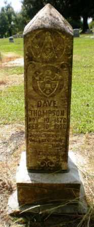 THOMPSON, DAVE - Ashley County, Arkansas | DAVE THOMPSON - Arkansas Gravestone Photos