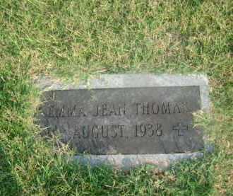 THOMAS, EMMA JEAN - Ashley County, Arkansas   EMMA JEAN THOMAS - Arkansas Gravestone Photos
