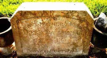 THOMAS, REBECCA - Ashley County, Arkansas | REBECCA THOMAS - Arkansas Gravestone Photos