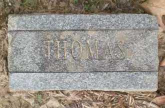THOMAS, UNKNOWN - Ashley County, Arkansas | UNKNOWN THOMAS - Arkansas Gravestone Photos