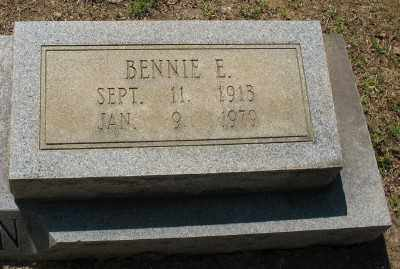 THOMPSON, BENNIE E. (CLOSEUP) - Ashley County, Arkansas | BENNIE E. (CLOSEUP) THOMPSON - Arkansas Gravestone Photos