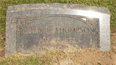 THOMPSON, CORA E - Ashley County, Arkansas | CORA E THOMPSON - Arkansas Gravestone Photos