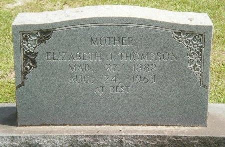 THOMPSON, ELIZABETH J - Ashley County, Arkansas   ELIZABETH J THOMPSON - Arkansas Gravestone Photos