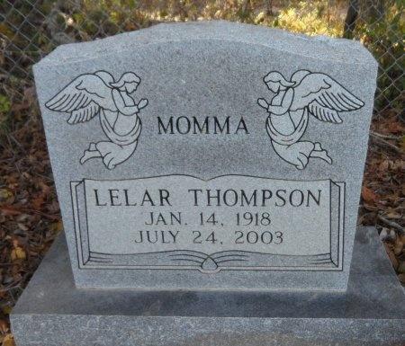 RUCKER THOMPSON, LELAR - Ashley County, Arkansas | LELAR RUCKER THOMPSON - Arkansas Gravestone Photos