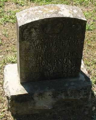 THOMPSON, LAWANDA EARL - Ashley County, Arkansas | LAWANDA EARL THOMPSON - Arkansas Gravestone Photos