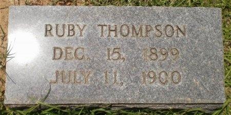 THOMPSON, RUBY - Ashley County, Arkansas | RUBY THOMPSON - Arkansas Gravestone Photos