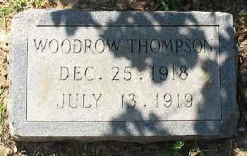 THOMPSON, WOODROW - Ashley County, Arkansas   WOODROW THOMPSON - Arkansas Gravestone Photos