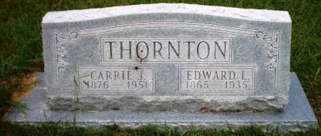 THORNTON, CARRIE J - Ashley County, Arkansas | CARRIE J THORNTON - Arkansas Gravestone Photos