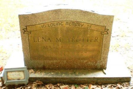 TROTTER, LENA M. - Ashley County, Arkansas | LENA M. TROTTER - Arkansas Gravestone Photos