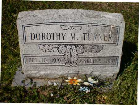 TURNER, DOROTHY M - Ashley County, Arkansas   DOROTHY M TURNER - Arkansas Gravestone Photos