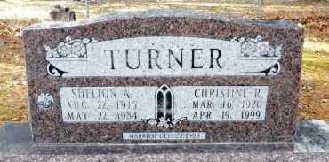 TURNER, CHRISTINE - Ashley County, Arkansas | CHRISTINE TURNER - Arkansas Gravestone Photos