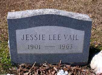 VAIL, JESSIE LEE - Ashley County, Arkansas   JESSIE LEE VAIL - Arkansas Gravestone Photos