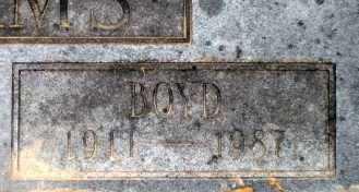 WILLIAMS, BOYD (CLOSE UP) - Ashley County, Arkansas   BOYD (CLOSE UP) WILLIAMS - Arkansas Gravestone Photos