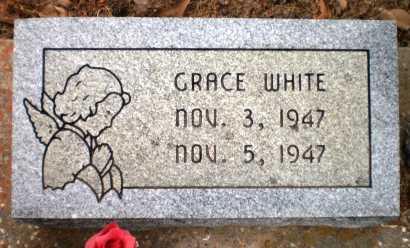 WHITE, GRACE - Ashley County, Arkansas | GRACE WHITE - Arkansas Gravestone Photos