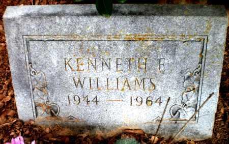 WILLIAMS, KENNETH E - Ashley County, Arkansas | KENNETH E WILLIAMS - Arkansas Gravestone Photos