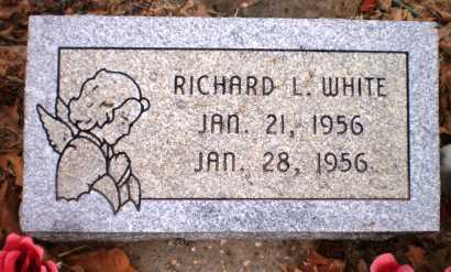 WHITE, RICHARD L - Ashley County, Arkansas   RICHARD L WHITE - Arkansas Gravestone Photos