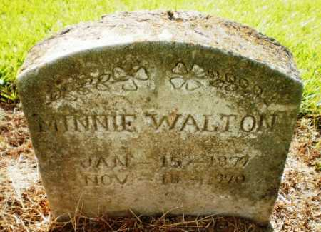 WALTON, MINNIE - Ashley County, Arkansas   MINNIE WALTON - Arkansas Gravestone Photos