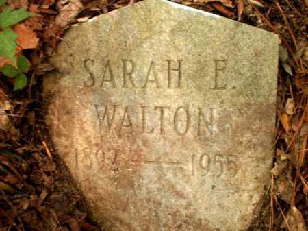 WALTON, SARAH E - Ashley County, Arkansas | SARAH E WALTON - Arkansas Gravestone Photos