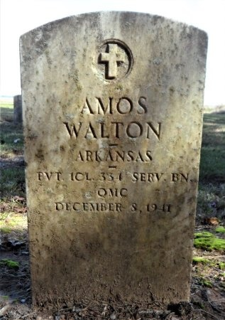 WALTON (VETERAN WWI), AMOS - Ashley County, Arkansas | AMOS WALTON (VETERAN WWI) - Arkansas Gravestone Photos