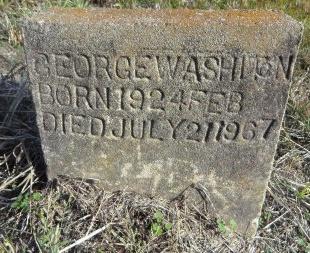 WASHITON, GEORGE - Ashley County, Arkansas | GEORGE WASHITON - Arkansas Gravestone Photos