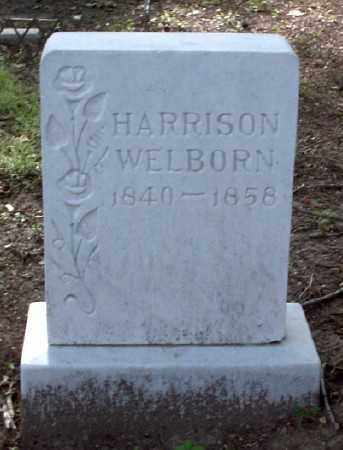 WELBORN, CICERO HARRISON - Ashley County, Arkansas | CICERO HARRISON WELBORN - Arkansas Gravestone Photos